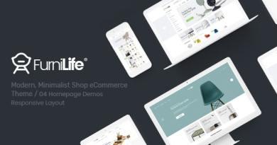 Furnilife - Furniture Theme for WooCommerce WordPress 4
