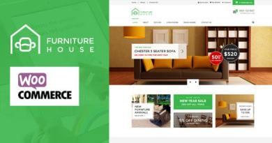 Furniture - WooCommerce WordPress Theme 4