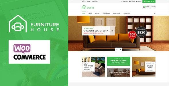 Furniture - WooCommerce WordPress Theme 21