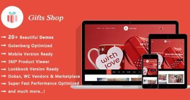 Gifts Shop | Handmade Souvenirs WooCommerce WordPress Theme 2