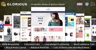 Glorious - WooCommerce Responsive Theme 3