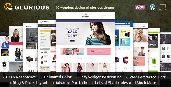 Glorious - WooCommerce Responsive Theme 1