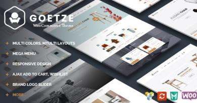 Goetze - Responsive WooCommerce WordPress Theme 4