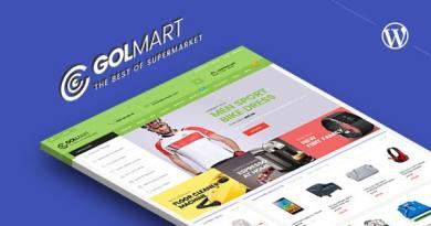 Golmart – Creative WooCommerce WordPress Theme 3