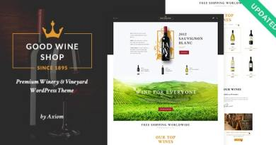 Good Wine | Vineyard & Winery Shop WordPress Theme 2