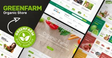 Greenfarm - Organic Theme for WooCommerce WordPress 4