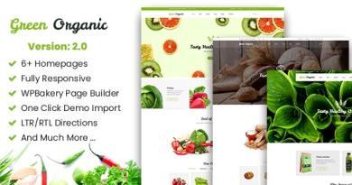 Greenorganic - WooCommerce WordPress Theme 3