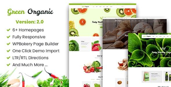 Greenorganic - WooCommerce WordPress Theme 1