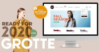 Grotte - A Dedicated WooCommerce Theme 3
