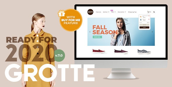 Grotte - A Dedicated WooCommerce Theme 1