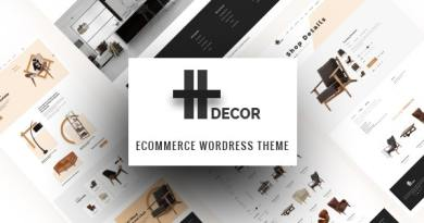 H Decor - Creative WP Theme for Furniture Business Online 2