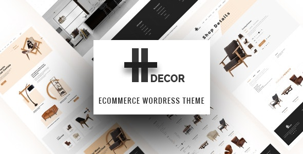 H Decor - Creative WP Theme for Furniture Business Online 1