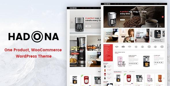 Hadona - One Product, WooCommerce WordPress Theme 1