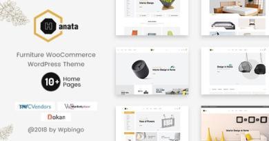 Hanata - Marketplace WooCommerce Furniture Theme 2