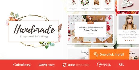 Handmade Shop - Handicraft Blog & Creative Store WordPress Theme 8