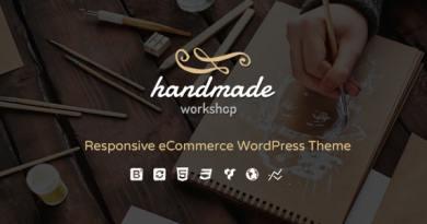 Handmade - Shop WordPress WooCommerce Theme 4