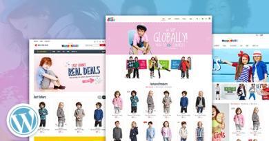 HappyChild - Multi Store Responsive WordPress Theme 4