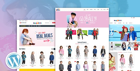 HappyChild - Multi Store Responsive WordPress Theme 1