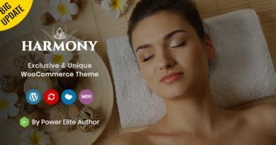 Harmony - Responsive WooCommerce Theme 3