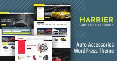 Harrier - Car Dealer and Automotive WordPress Theme 3