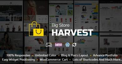 Harvest - Multipurpose WooCommerce Theme 4