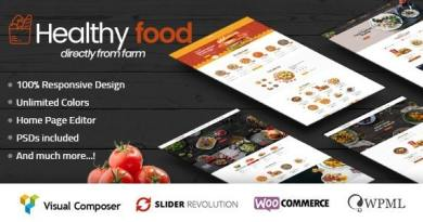 HealthyFood - Food & Organic WooCommerce Theme (RTL Supported) 2