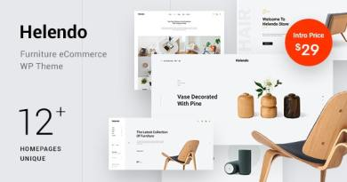 Helendo - Furniture eCommerce WordPress Theme 7