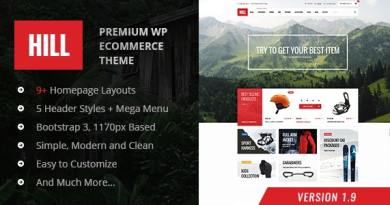HILL - Premium Responsive WooCommerce Theme 5