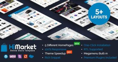 HiMarket - Electronics Store/Medical/Sport Shop WooCommerce WordPress Theme 4