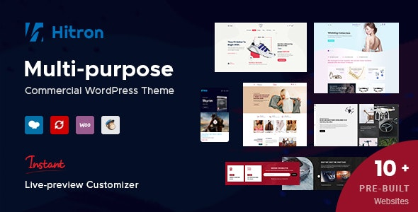 Hitron - Creative Multipurpose WordPress Theme 11
