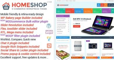 Home Shop - WooCommerce Theme 2
