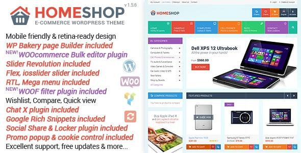 Home Shop - WooCommerce Theme 8