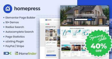 HomePress - Real Estate WordPress Theme 3