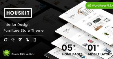 Houskit - Interior Design & Furniture Store WordPress Theme (Mobile Layout Ready) 2