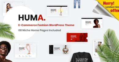 Huma – Fashion E-commerce WordPress Theme 2