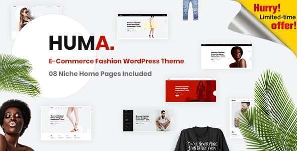 Huma – Fashion E-commerce WordPress Theme 20