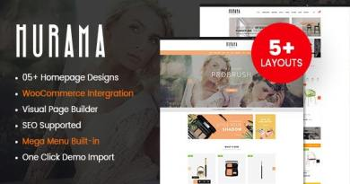 Hurama - Multipurpose WooCommerce WordPress Theme 3