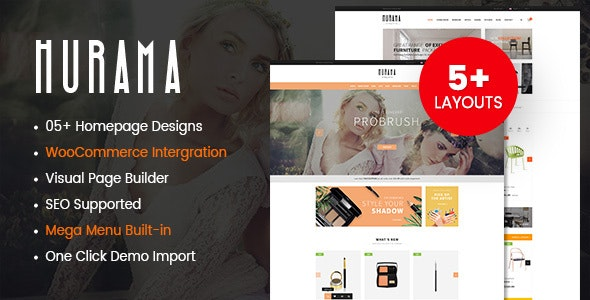 Hurama - Multipurpose WooCommerce WordPress Theme 3