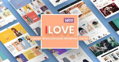 iLove - Creative Fashion Shop WordPress WooCommerce Theme (8+ Homepages & Mobile Layouts Ready) 2