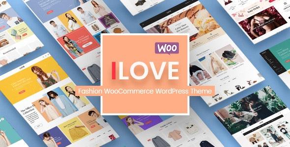 iLove - Creative Fashion Shop WordPress WooCommerce Theme (8+ Homepages & Mobile Layouts Ready) 1