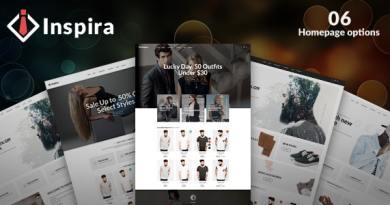 Inspira - Multipurpose Responsive WooCommerce WordPress Theme 2