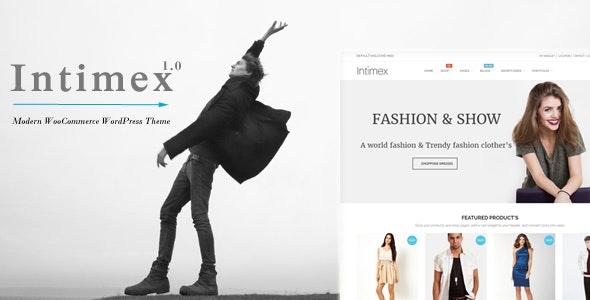 Intimex - Modern WooCommerce WordPress Theme 7