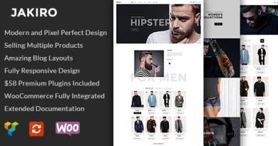 Jakiro - Fashion Shop WordPress Theme 2