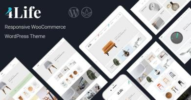 JMS 4Life - Responsive WordPress Theme 2