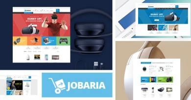 Jobaria - Technology Theme for WooCommerce WordPress 4