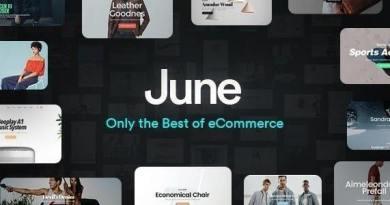 June - WooCommerce Theme 4