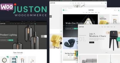 Juston - WooCommerce Responsive Furniture Theme 3