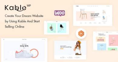 Kable - Multipurpose WooCommerce Theme 7