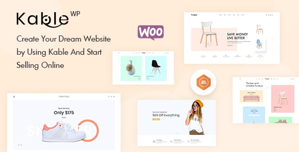 Kable - Multipurpose WooCommerce Theme 4