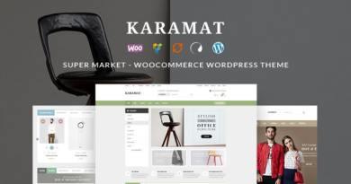 KaraMat - Supermarket WooCommerce WordPress Theme 3